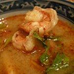 ソムオー - 「トムヤムクン(M)」はプリプリの海老が美味しかった!