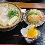 姫松屋 - 鍋焼うどん膳
