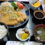 姫松屋 - とんかつ定食