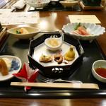 上総一宮海浜保養所 - 料理写真:2019/1/1-1-2  夜のお造りほか料理
