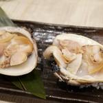魚楽唐唐 - 焼き蛤