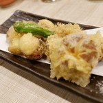 Karakara - 蛸の天ぷら