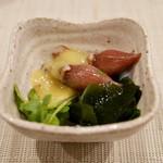 Karakara - 突き出し(蛍烏賊酢味噌)