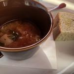 104153595 - スープとフォカッチャ