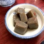 萬太郎 - ピリカラコンニャク(250円)