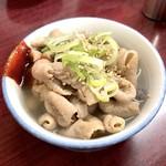 萬太郎 - 煮込(400円)