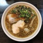 ラーメン あおやま - 料理写真:鶏ブラック 750