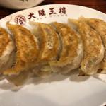 Oosakaoushou - 元祖焼餃子 240円