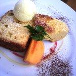 カフェレストラン ラヴィータ - デザートプレート