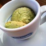 カフェレストラン ラヴィータ - Mちゃんが(オマケで)もらったクッキー