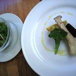 カフェレストラン ラヴィータ - ピッツアに付いてくるセット
