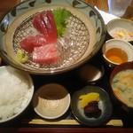 bodai - 新鮮生マグロ刺身定食 1,600円