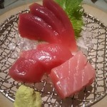 bodai - 生マグロ刺身アップ