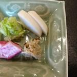 よし澤 - お新香が美味しいと、ほっとします。