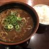 うどん大文字 - 料理写真:カレーうどん620円 白ごはん(小)100円