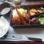 文化亭 - 料理写真:■洋食弁当ランチ■限定20食★デザート付き★♪1250円
