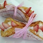 コム・アン・プロヴァンス - 「苺とホワイトチョコのおいしい湘南です」です、200円