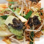 青葉台 麺飯厨房 - 上海やき蕎麦