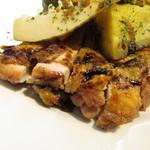 カフェルード - 鶏もも肉のロースト バルサミコソース