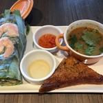 アジアンビストロDai  - 前菜盛り合わせ300円