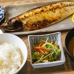 げんかつぎ - 鯖の文化干し定食