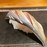 喜代寿司 - 小肌 酸味は弱めかな