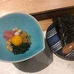 すし大作 - 五色納豆