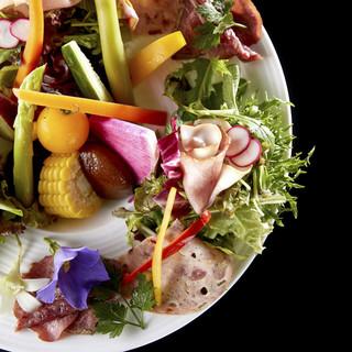 ◆四つのこだわり―。安全でお客様が安心できるお食事を―。