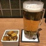 居酒屋 鴨と豚 とんぺら屋 - 生ビール190円とお通し