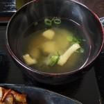104177624 - 波音セット波の味噌汁