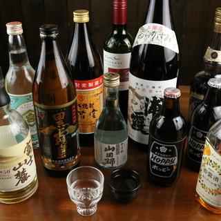 お料理に良く合うお酒を◎種類豊富なドリンクと共に楽しんで!