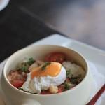 R レストラン&バー - 洋風おじや。スープをかけていただきます。