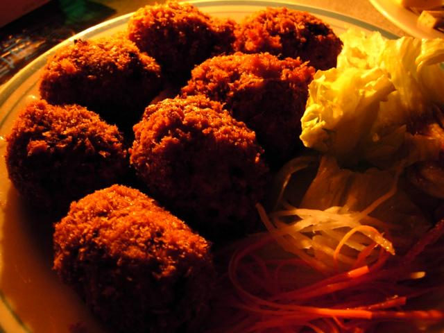 電氣食堂 - チーズハンバーグライス7個