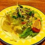 ガナパティ・ババ - 日替わりディナーセットのサラダ