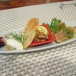 ランポーネ - 料理写真:前菜