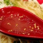 104181113 - 飲み干したおいしいスープ!