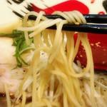 屋台拉麺一's - 料理写真:細麺