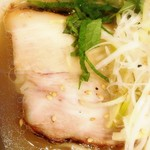 屋台拉麺一's - 料理写真:チャーシュー