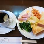 若柳 - 料理写真:モーニング(全体)