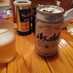 とんぴととりの光龍益 - ビール350円