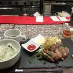 プラチナミート 白金肉 - ジャークジンジャー定食