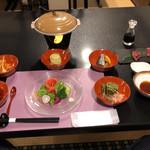 にしきや - 料理写真:夕食1