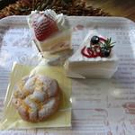 きぬ菓子工房 - 料理写真: