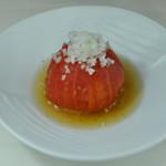 丸ごとトマトの柚子胡椒漬け