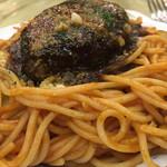 グリル フレーバー - 料理写真:ハンバーグスパゲティー