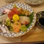 ろばた・すし ひかり - 料理写真:刺身盛り合わせ 1,000円