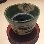 かに会席と日本料理 美山 - ほうじ茶♡
