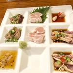 居酒屋鳥のぶ - 料理写真: