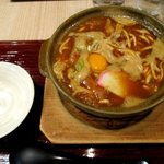 横浜なかや - 味噌煮込みうどん(玉子入り)!