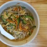 沖縄料理とそーきそば たいよう食堂 - ごーやちゃんぷるそば